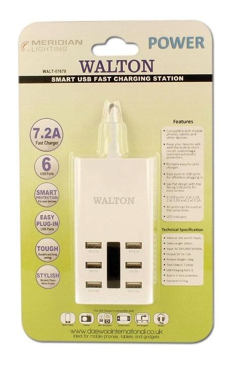 Smart USB Fast Charging Station