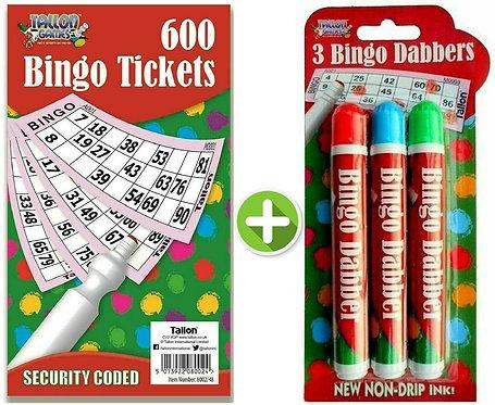 Bingo Book & Dabber