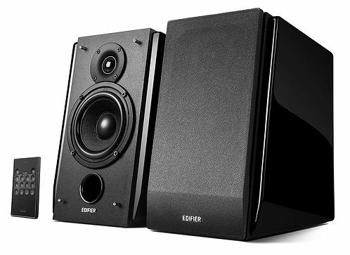 Edifier R1850DB Studio Active Bluetooth Bookshelf Speaker Set - Gloss Black