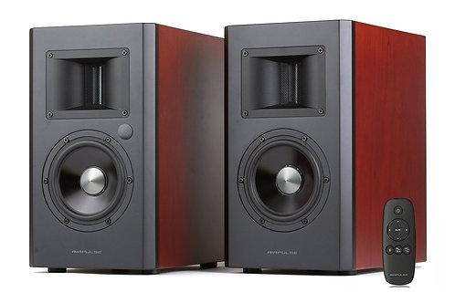 Edifier A200 Active Bluetooth Bookshelf Speaker Set - Hardwood Cherr