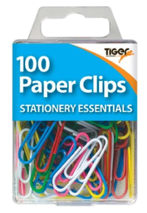Essentials Metal Paper Clips