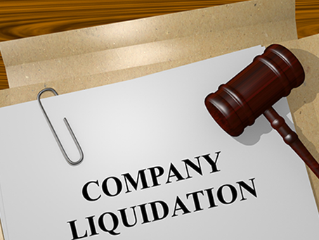 How to liquidate a company that has no money or assets