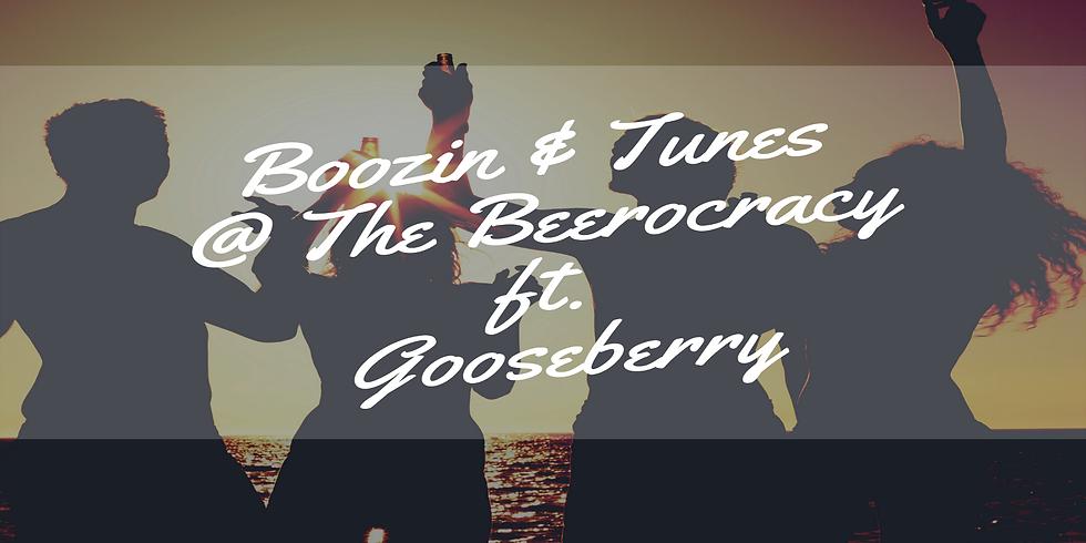 Boozin & Tunes @ The Beerocracy ft. Gooseberry