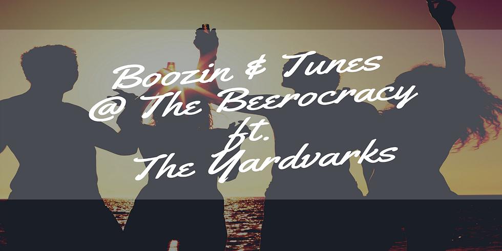 Boozin & Tunes @ The Beerocracy ft. The Yardvarks