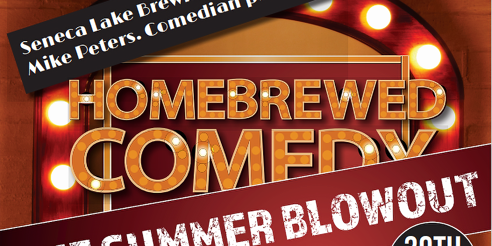 Homebrewed Comedy - The Summer Blowout!