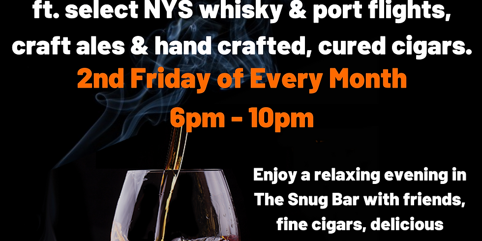 Whisky, Port, Cigar Night at The Beerocracy