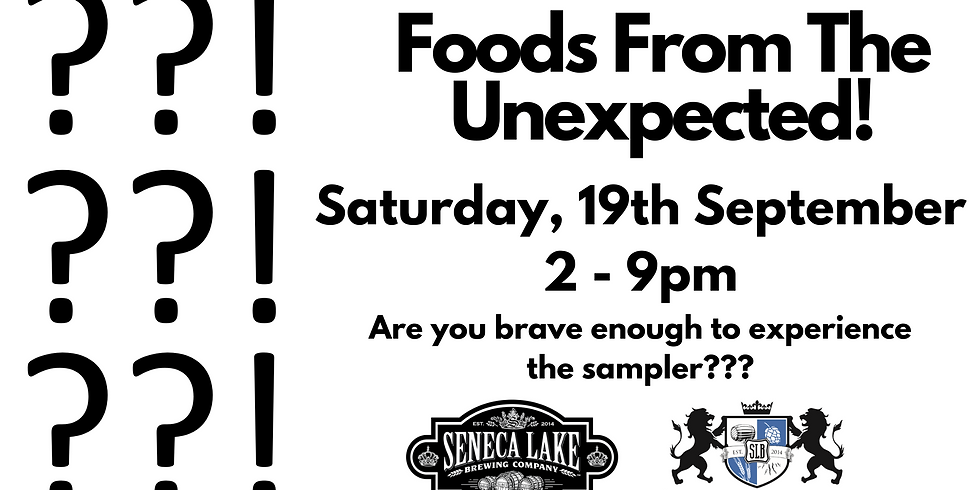 Foods From The Unexpected!