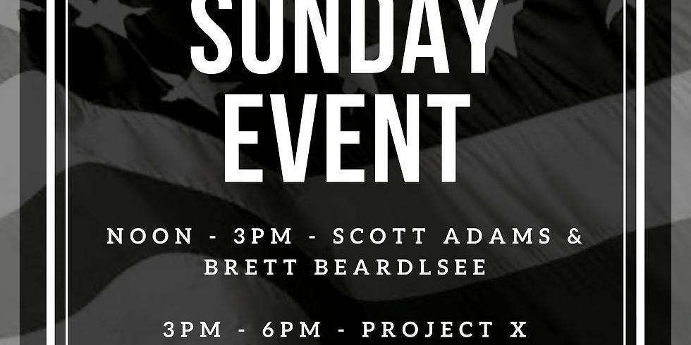 Memorial Sunday Brews, Food & Tunes