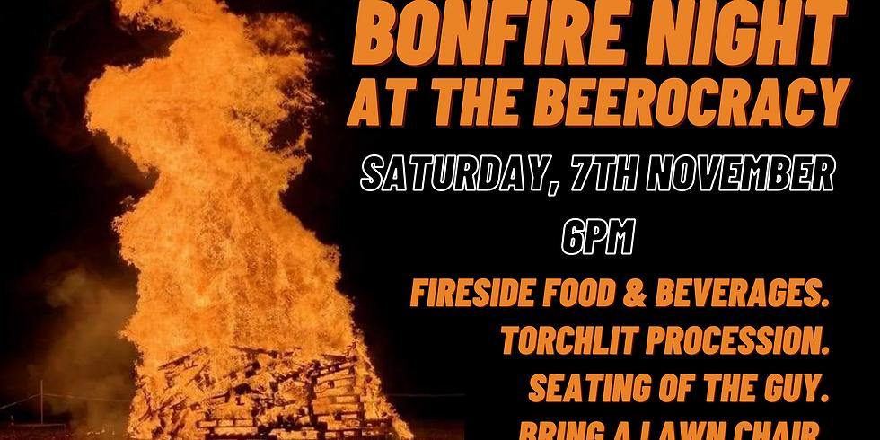 Bonfire Night At The Beerocracy