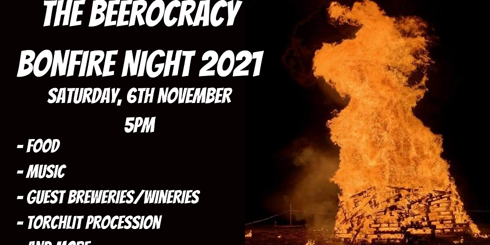 THE BEEROCRACY BONFIRE NIGHT 2021