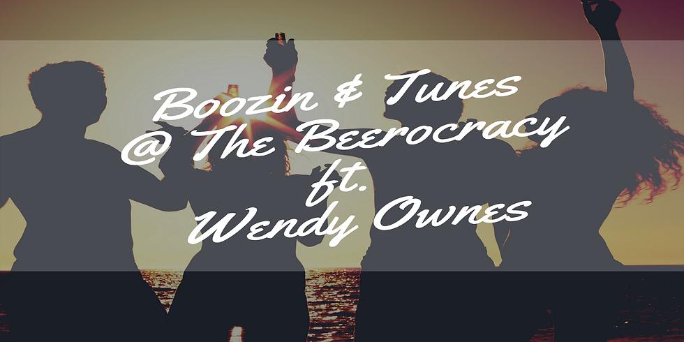 Boozin & Tunes @ The Beerocracy ft. Wendy Owens