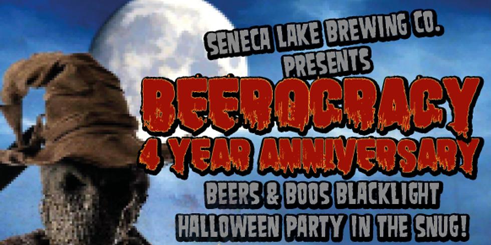 Beerocracy 4 Year Anniversary / Black Light Halloween Costume Party