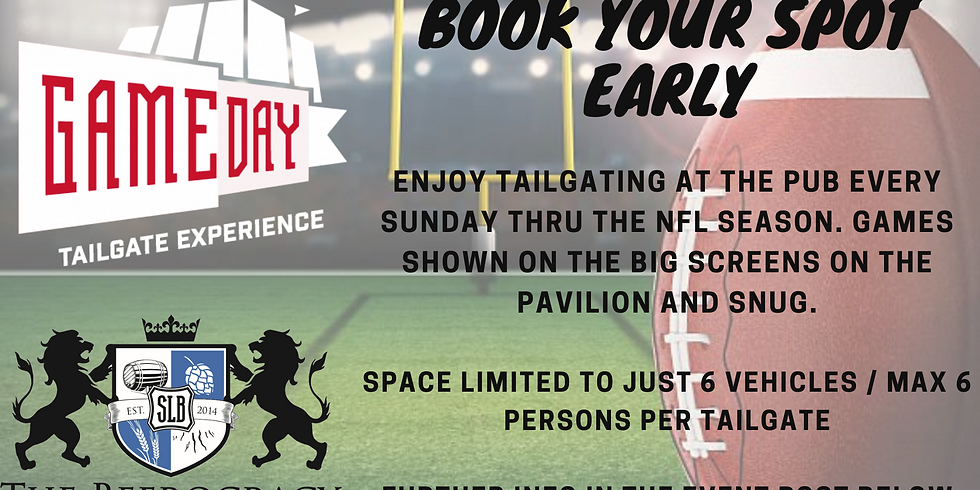 Football Tailgate at The Beerocracy