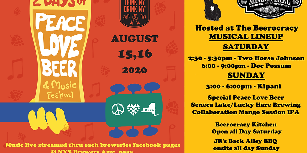 2 Days of Peace Love Beer & Music Festival!