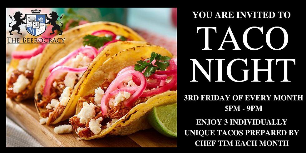 Taco Night at The Beerocracy