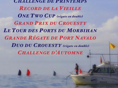 Régates Du Yacht Club du Crouesty Arzon en 2020