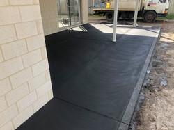 Manjimup black concrete exposed leaf wit