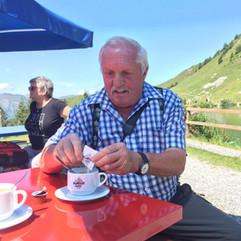 Kaffee mit aussicht im Seebeizli.