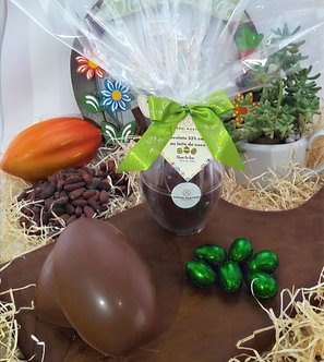 Ovo de chocolate ao leite de coco 53% cacau - 150g