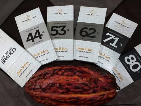 De cara nova, a linha completa bean to bar de Andrei Martinez Chocolatier é lançada no 9° Festival I