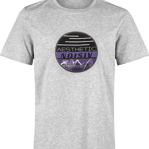 AN Wave Heather Grey / Purple