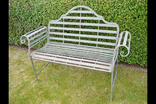 Rustic Ornate Garden Bench 4459