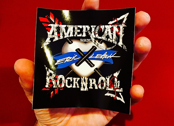 Eric Leach - American Rock N' Roll 4x4 Sticker