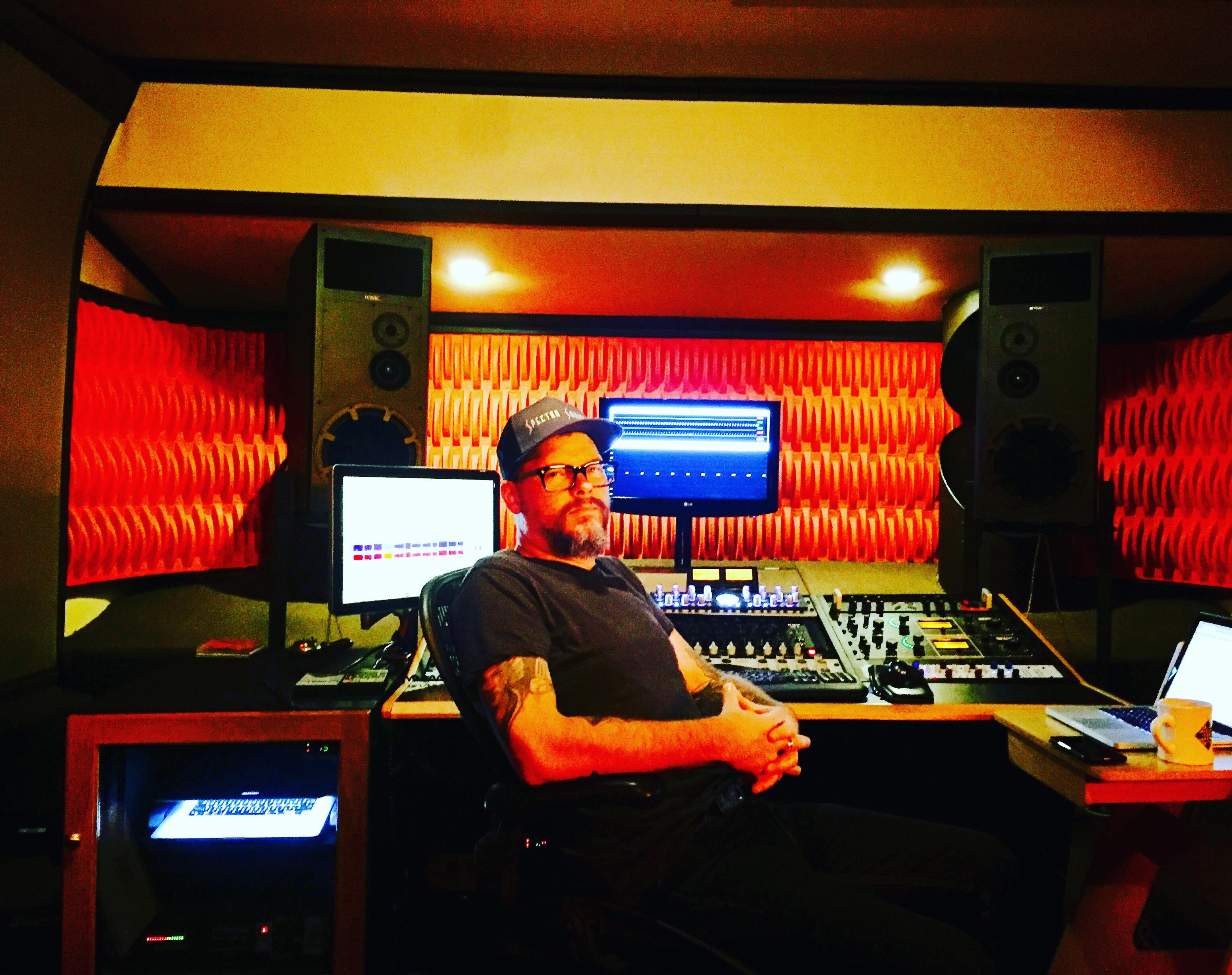 Pete Lyman at Infrasonics Mastering