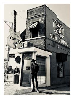 Recording at Sun Studio - Memphis Tennes