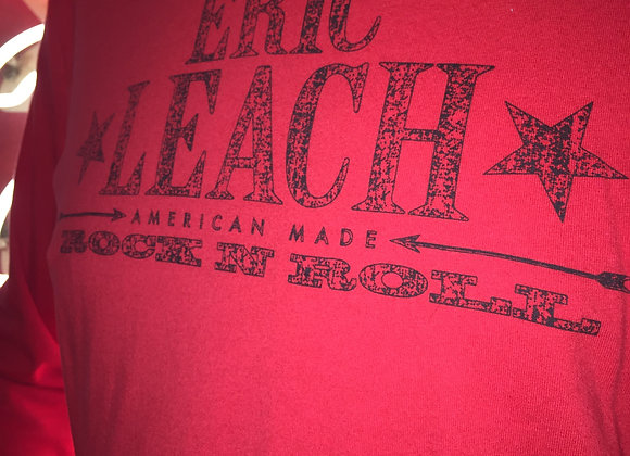 Eric Leach Long Sleeve T-Shirt (red) - Men