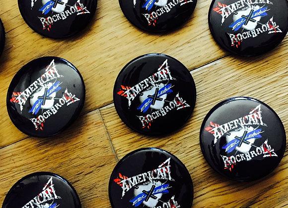 """Eric Leach - American Rock N' Roll 1 1/2"""" Badge/Button"""