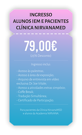 Ingresso Alunos IEM Pacientes NirvanaMED