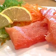 Smoked Salmon Sashimi