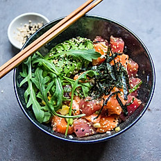 Poke Bowl with Three Toppings