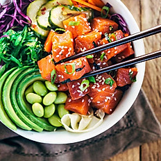 Poke Bowl with One Topping