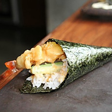 Shrimp Tempura Handroll