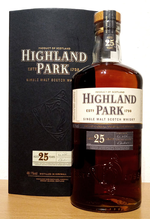 Highland Park 25 Years old Distillery Bottling Bottled 2006