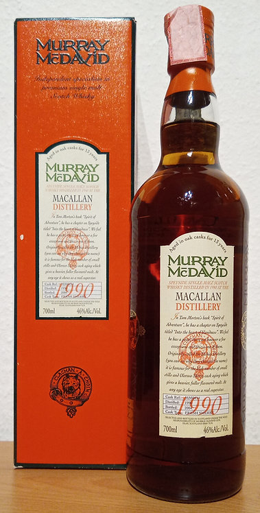 Macallan 1990 Murray McDavid 13 Years old Fresh Sherry Cask MM0414