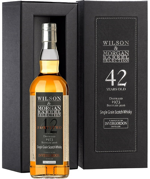 Invergordon 1973 Wilson & Morgan 42 Years old Refill Bourbon Cask 13000000039