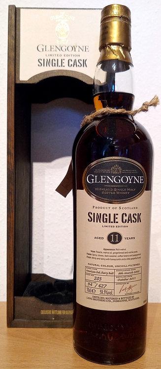 Glengoyne 2000 American Oak Sherry Butt 11 Years old Single Cask 203