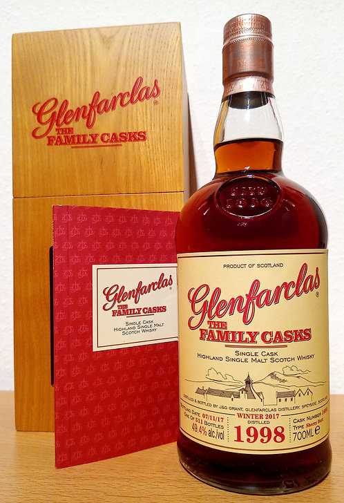 Glenfarclas 1998 The Family Casks 19 Years old Sherry Butt 1695