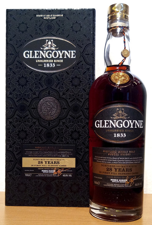 Glengoyne 28 Years old First Fill Oloroso Casks Limited Release 2018