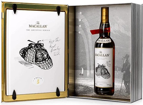 Macallan Folio 5 The Archival Series Bottled 2020 + Book Box