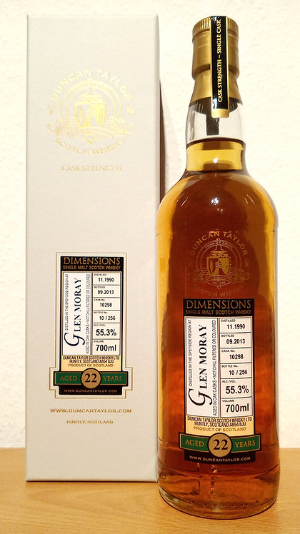 Glen Moray 1990 Duncan Taylor 22 Years old Cask 10298