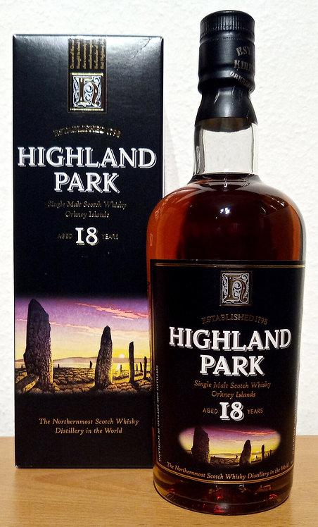 Highland Park 18 Years old Bottled 2006 old Label Distillery Bottling