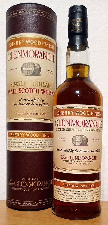 Glenmorangie Sherry Wood Finish Bottled 2004 New Striped Label