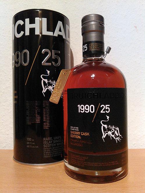 Bruichladdich 1990 Sherry Cask Edition Pedro Ximénez/Oloroso 25 Years old