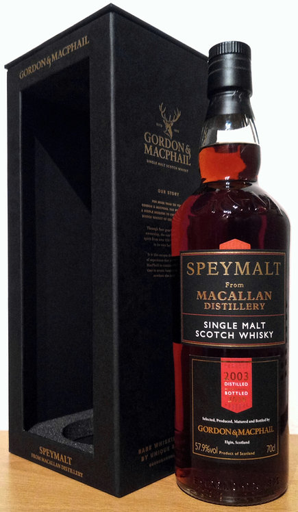Macallan 2003 Bottled 2020 by Gordon & MacPhail 17 Years old