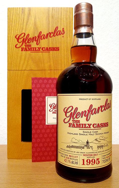 Glenfarclas 1995 The Family Casks 22 Years Sherry Hoghshead 2292