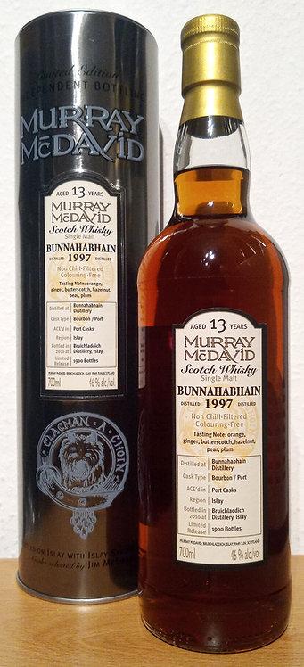Bunnahabhain 1997 Murray McDavid 13 Years old Silver Mission